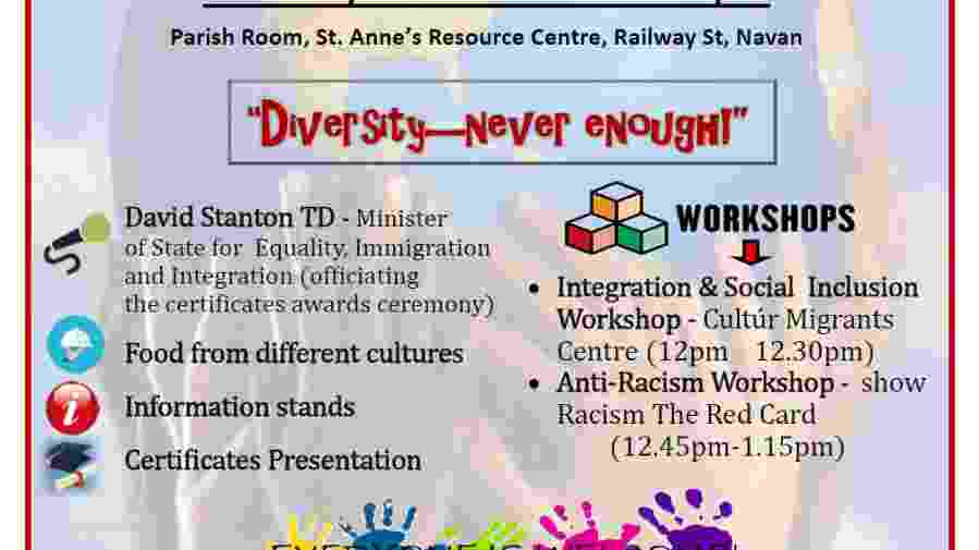 Anti-racism day leaflet